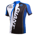 giant clothing - Short Sleeve Giant Cycling Jersey Pants Leisure Outdoor sport Spring Summer blue