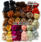 Mohair for Dolls - Curly HIGH QUALITY, make BLYTHE BJD WAldorf wig, rooting hair