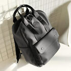 Men's Faux Leather Business Backpack Rucksack Daypack School bag Satchel 14""