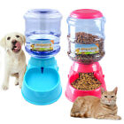 Automatic Cat Feeder Pet Dog Water Bottle Dispenser Travel Food Dish Bowl 35L