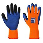 12 x Portwest A185 Duo-Therm Gripper Gloves | High Wear Durable Work Gloves M-XL