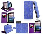 New Premium Leather Flip Wallet Phone Case Cover For ZTE Blade V8 Lite (5'')
