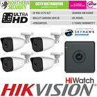 HIKVISION 1 2 3 4 Bullet IP Camera CCTV Kit Bundle Security System 4MP POE