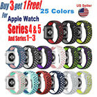 Replacement Silicone Sport Band Strap For Apple Watch 42 38 44 40mm Series 4/3/2 image