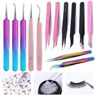 Внешний вид - Nail Art Straight Curved Tweezer Eyelash Extensions Stickers Rhinestones Picker