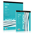 Acrylic Pad, A4 or A3, heavyweight 360gsm paper for acryic paint, by Seawhite