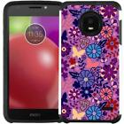 Motorola Moto E4 / E4 Plus Slim Hybrid Case Cover Pastel Color Flower Unicorn