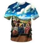 Far Cry 5 T-shirt Gaming Farcry Game 3D Print New Fashion Primal Exclusive Loot