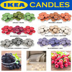 IKEA 30 Pack Scented Tealight Candle Fragrance Tea Light Wedding Home BBQ Party