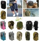 Tactical Molle Pouch Belt Waist Fanny Pack Sport Bag Military Waist Pocket Phone