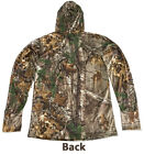 Spring Autumn Bionic Long Sleeves T-Shirt Camouflage Clothing Hunting Hooded