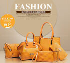 2018 6PCS Women set shoulder bag satchel handbag fashion handbags