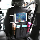 Car Back Seat Organiser Tablet iPad Holder Protector  Kids Bottle Kick Mat Tidy