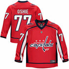 Fanatics Branded TJ Oshie Washington Capitals Youth Red Replica Player Jersey