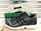 "Adidas ZX Flux ""London"" Shoes Black Green Chalk Limited RARE SZ ( M19926 )"