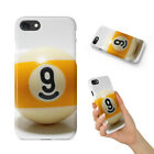 SNOOKER POOL TABLE BALLS 8 CASE IPHONE 4 4S 5 5C 5S SE 6 6S 7 8 X PLUS $6.93 USD on eBay