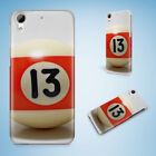 SNOOKER POOL TABLE BALLS 9 HARD CASE COVER FOR HTC ONE M7 M8 M9 M9+ $8.87 USD on eBay