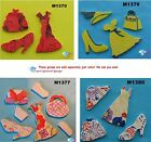 ASSORTED CLOTHING - CERAMIC MOSAIC TILES for your project ( Pick you Group ) #4