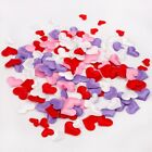 1 pack Art Fabric Heart Shape Flower Petals Confetti Throwing Wedding Party