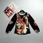 Angel Fashion Blouse Jacket Long Sleeved Women 2018 summer chse size/clr