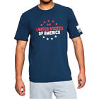Under Armour UA Freedom One Nation America USA Charged Cotton® Navy T-Shirt image