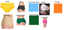Внешний вид - NEW Dance Cheer Trunks/Briefs ALL SIZES COLORS Body Wrappers/Capezio Jazz