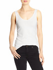 BANANA REPUBLIC Reversible layering Tank - WHITE #2135