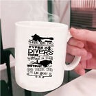 I Love Diving Coffee Mug, There Are Two Types Of Divers Cup