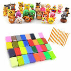 32 /48 Colors +14 Tools Kit Soft Polymer Clay Oven Fimo Clay Model Moulding Game image