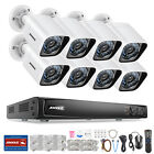 ANNKE 6MP 8CH/4CH NVR 2MP 1080P IR Outdoor IP CCTV Security Camera System ROI 4T