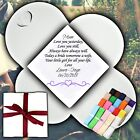 Mother of the Bride Personalised Handkerchief Favour Gift Hankie Custom Hearts