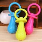 2pcs Rubber Pacifier Style Training Games Molar Chew Toy for Pet Dog Cat