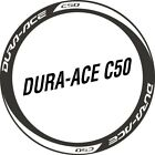 Two Wheel Set Stickers for DA C50 DURA ACE Road Bike Fixed Gear Bicycle Decals