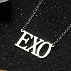 KPOP BTS Bangtan Boys EXO NCT GOT7 TWICE BLACKPINK Steel Pendant Necklace