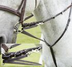 Leather Market Harborough with Reins Training Aid Black or Brown Full Cob *SALE*