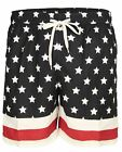 Soul Star Bermuda Swimming Shorts For Men Elasticated Summer Navy Trunks S-L