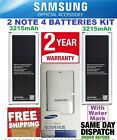 New Samsung Galaxy Note 4 batteries+KIT CHARGER BN910B SM-N910 N910A OEM 3220mAh