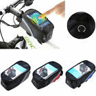 Us Bike Bicycle Top Frame Front Pannier Saddle Tube Bag Cell Phone Pouch Holder