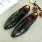 New Mens Brogues British Real Leather Dress Business Casual Summer Fashion Shoes