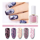 6ml BORN PRETTY Nail Art Stamping Polish Plate Withered Rose Stamping Series DIY
