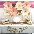 30cm Paper Flower Backdrop Wall Large Rose Flowers DIY Wedding Party Decor