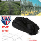 """50'x50' Anti Bird Netting 2.0"""" Mesh Net  Agriculture Garden Poultry Aviary Game"""