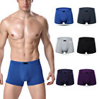 Mens Boxer Briefs Bamboo Fiber Breathable Underwear Trunks Underpants Knickers|
