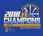Golden State Warriors 2018 NBA Champions shirt Curry Durant Klay Dubs GSW Champs