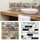 3D Wall Sticker Self Adhesive Tile Wall Sticker DIY Floor Kitchen Home Decor Hot
