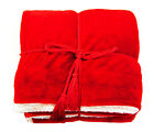 "50"" X 60"" Winter Lightweight Soft Warm Reversible Bed Couch Travel Blanket Throw image"