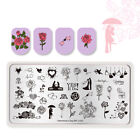 BORN PRETTY Nail Art Stamping Plates Geometry Rose Flower Image Plate Template <br/> Christmas Valentine&#039;s Day Stamping Plate 80+Pattern