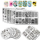 BORN PRETTY Nail Art Stamping Plates Unicorn Geometry Rose Flower Image Template