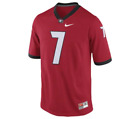Внешний вид - Nike Matthew Stafford Georgia Bulldogs #7 Red Replica College Alumni Jersey
