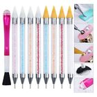 Dual-ended Dotting Pen Nail Art Rhinestone Picker Wax Pencil Crystal Handle Tool